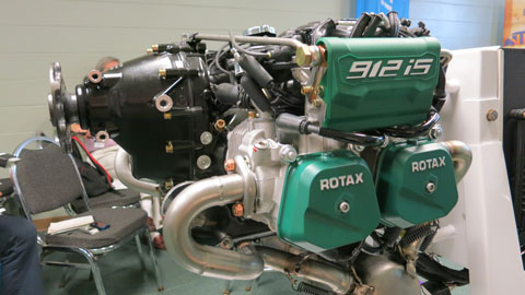 Rotax 912 iS Sport Aircraft Engine